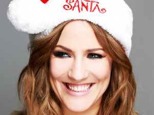 Caroline Flack - Text Santa
