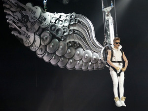 Justin Bieber performing in concert at Madison Square Garden New York City, USA - 28.11.12 Mandatory Credit: WENN.com