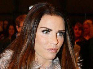 Katie Price at the Girls Day Out event in Glasgow, Scotland for perfume signing. 