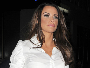 Katie Price aka Jordan out and about in Mayfair. London, England