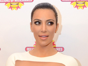 Reality TV Star Kim Kardashian caused a fan frenzy today in Kuwait during the opening of Millions of Milkshakes at The Avenues Mall Kuwait City, Kuwait