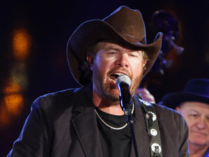 Toby Keith performs at the 60th Annual BMI Country Awards on Tuesday, Oct. 30, 2012, in Nashville, Tenn.