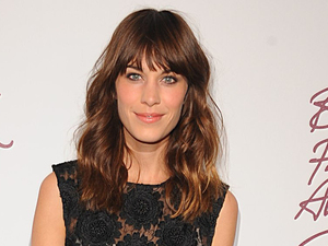 Alexa Chung, British Fashion Awards 2012
