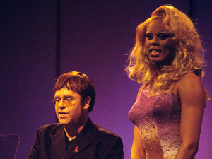 Elton John, Rupaul, BRIT Awards