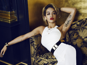 Rita Ora for Harper&#39;s Bazaar January issue