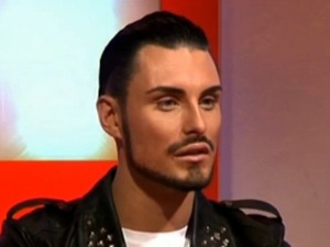 Rylan Clark on This Morning, 25 November 2012