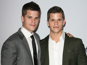 Max Carver and Charlie Carver 'Desperate Housewives' Final Season Kick-Off Party held at Wisteria Lane in Universal Studios Los Angeles, California - 21.09.11