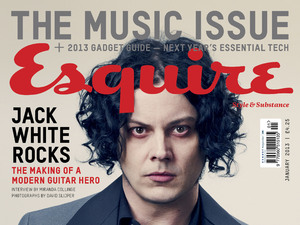 Jack White photoshoot for Esquire