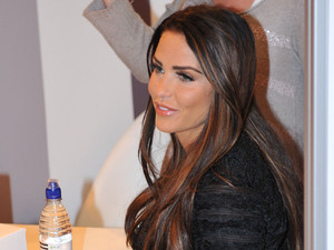 Katie Price attends 'Girls Day Out' event in Glasgow. She was there to promote her own product in conjunction with the London Perfume Company