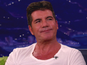 Simon Cowell Demi Lovato and Simon Cowell appear on TBS's 'Conan' where they talk about working together as judges on the hit reality show 'The X Factor' USA - 17.09.12 Supplied by WENN.comWENN does not claim any ownership including but not limited to Copyright or License in the attached material. Any downloading fees charged by WENN are for WENN's services only, and do not, nor are they intended to, convey to the user any ownership of Copyright or License in the material. By publishing this material you expressly agree to indemnify and to hold WENN and its directors, shareholders and employees harmless from any loss, claims, damages, demands, expenses (including legal fees), or any causes of action or  allegation against WENN arising out of or connected in any way with publication of the material.