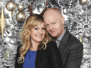 Jo Joyner and Jake Wood as Tanya and Max Branning.