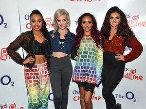 Miss Mode: Leigh-Anne Pinnock, Perrie Edwards, Jade Thirlwall and Jesy Nelson of Little Mix Cheerios Childline Concert 2012 held at the O2 Arena Dublin, Ireland - 24.11.12 Mandatory Credit: WENN.com