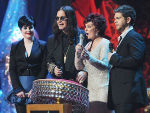 The Osbournes, The BRIT Awards 2008