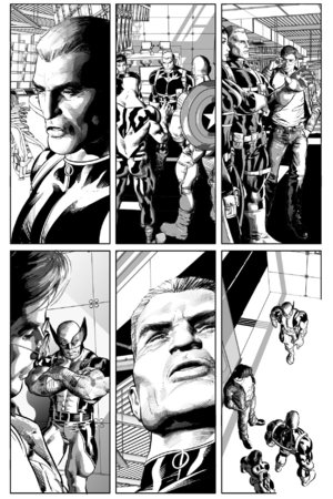 Avengers #10 Mike Deodato