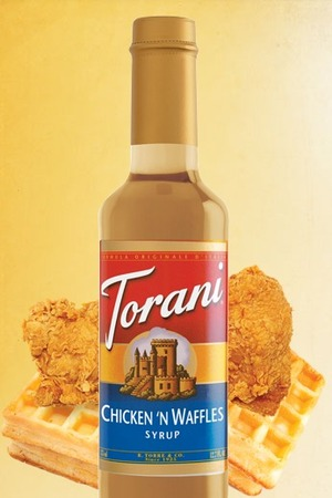 Chicken 'n waffles syrup