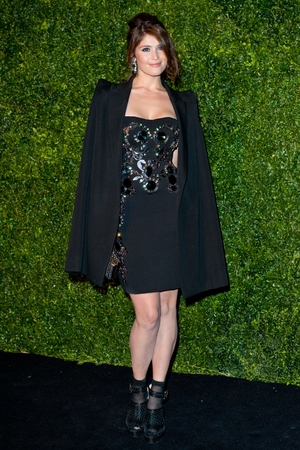 Gemma Arterton, attends the 58th London Evening Standard Theatre Awards at the Savoy Hotel, London.
