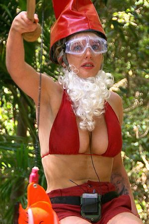 Helen Flanagan, Dingo Dollars, Gnome Holds Barred