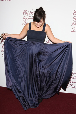 Lily Allen The British Fashion Awards 2012 held at The Savoy - arrivals London, England
