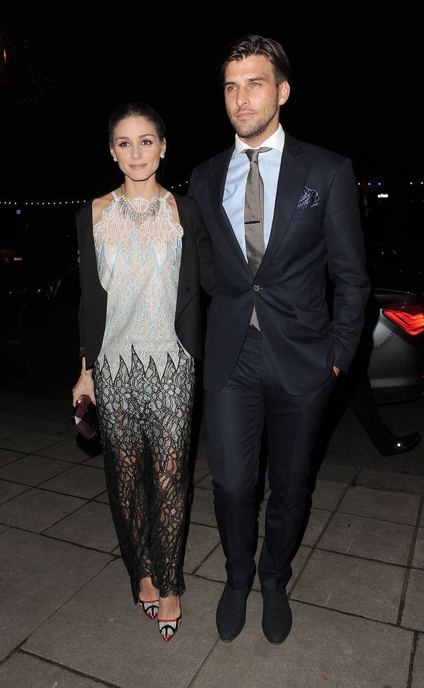 Olivia Palermo and boyfriend Johannes Huebl. Valentino: Master of Couture - Private View - Departures. London, England - 28.11.12 Mandatory Credit: Will Alexander/WENN.com
