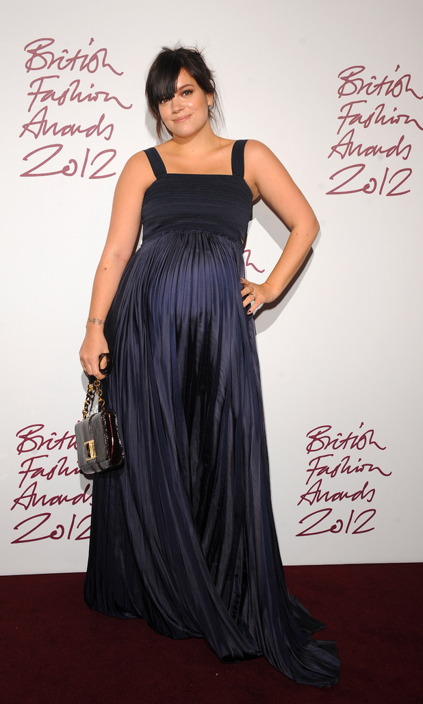 Lily Allen, British Fashion Awards 2012