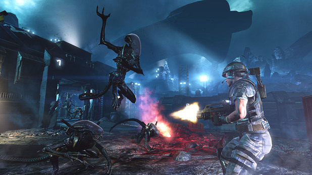 &#39;Aliens: Colonial Marines&#39; screenshot