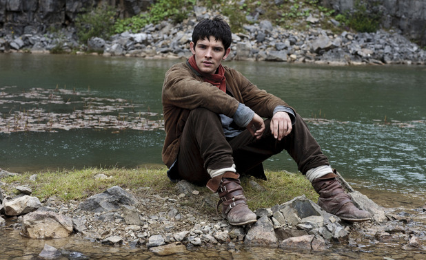 Merlin S05E09 - &#39;With All My Heart&#39;: Merlin (COLIN MORGAN)