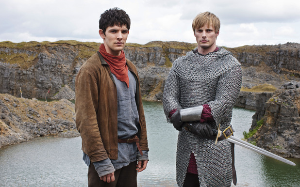 King Arthur Pendragon (Bradley James), Merlin (COLIN MORGAN)