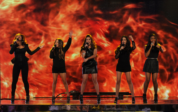 The X Factor USA - November 28: Fifth Harmony
