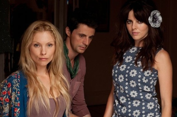 MyAnna Buring, Matthew Goode and Ophelia Lovibond in 'The Poison Tree'.