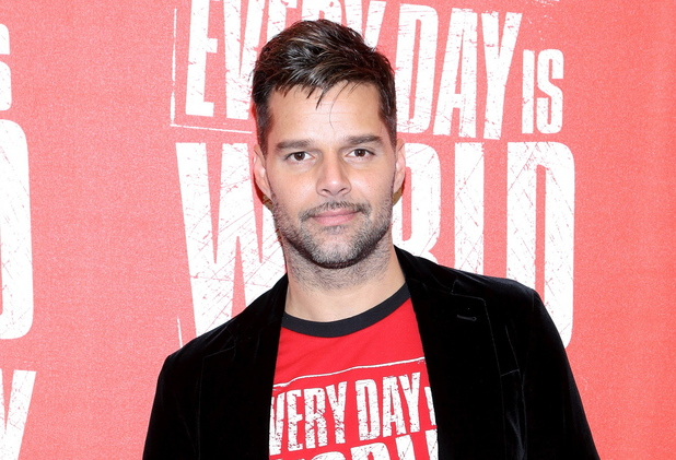 Ricky Martin kicks off World AIDS Day in New York City.