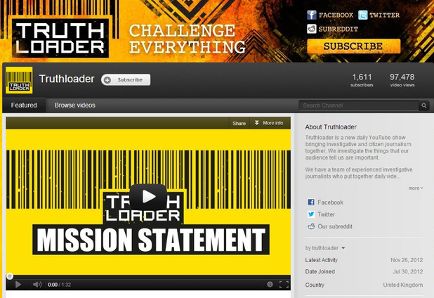 ITN launches citizen journalism YouTube channel 'Truthloader'