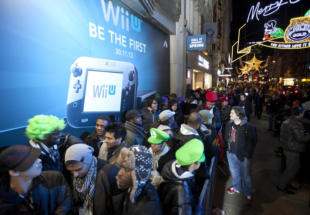 Wii U midnight launch