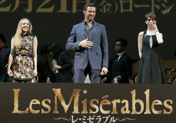 Hugh Jackman, Anne Hathaway, Les Miserables, Amanda Seyfried