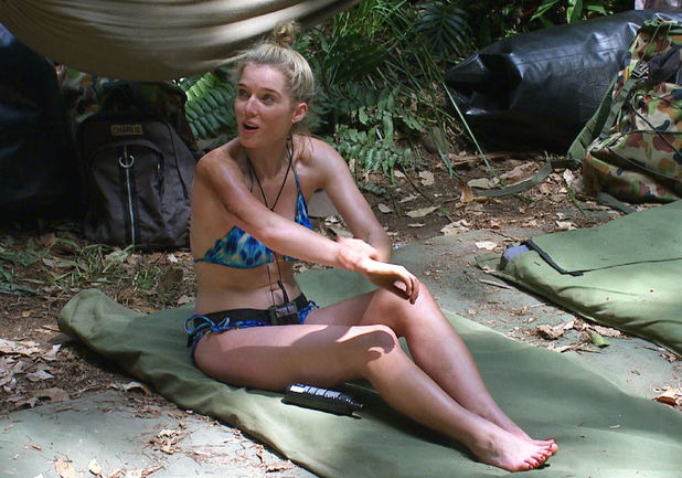Helen Flanagan, I&#39;m a Celebrity 2012