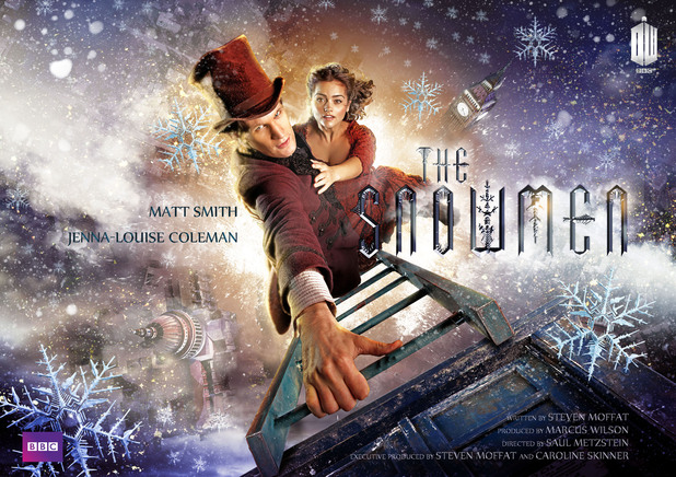 Doctor Who 'The Snowmen' movie-style poster
