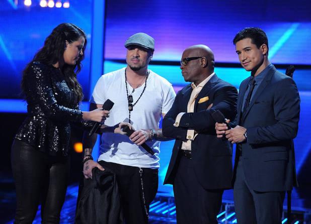 'The X Factor' USA TX November 29 - Vino Alan is eliminated