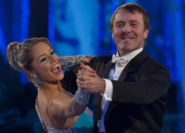 Phil Tufnell and Katya Virshilas