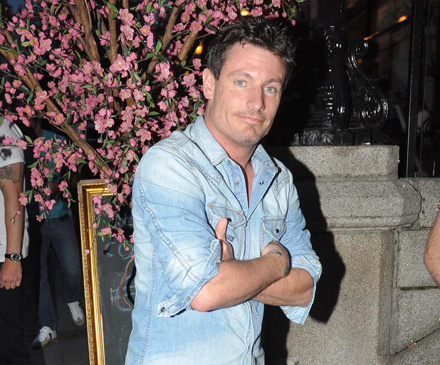 Dean Gaffney  arriving at No. 37 Bar, Dawson Street Dublin, Ireland - 07.07.12