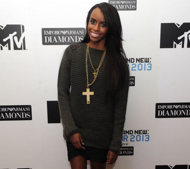 Angel Haze at MTV Brand New 2013 launch