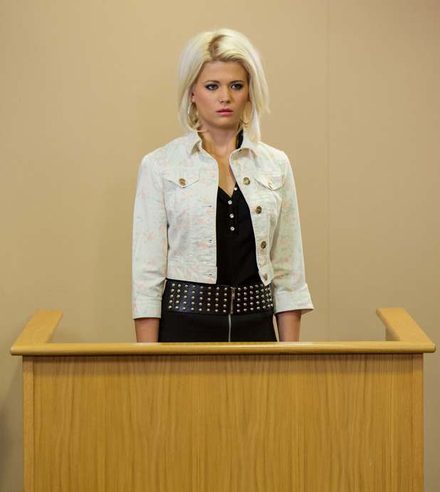 Lola takes the stand in court