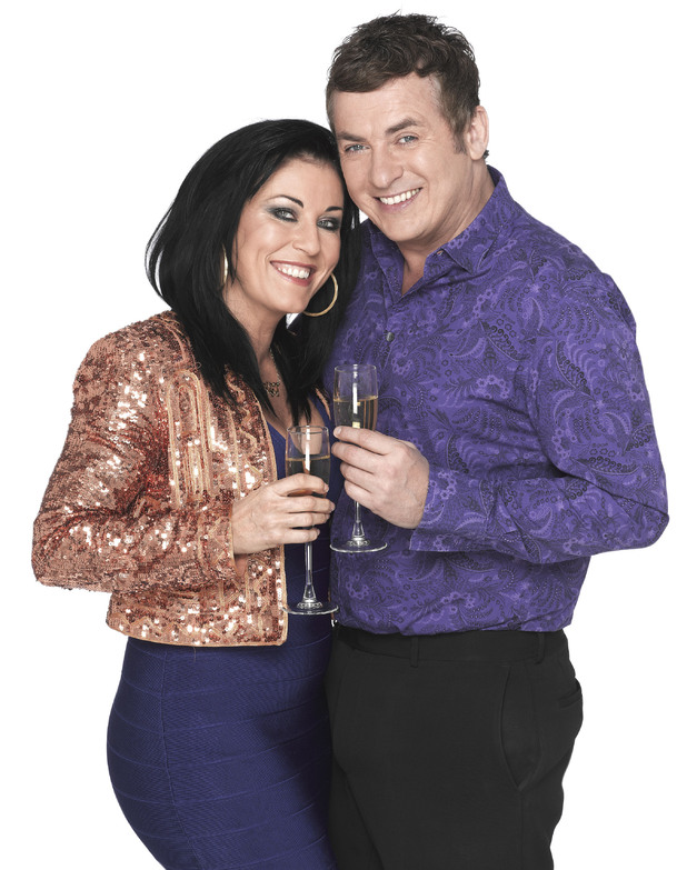 Jessie Wallace and Shane Richie as Kat and Alfie Moon.