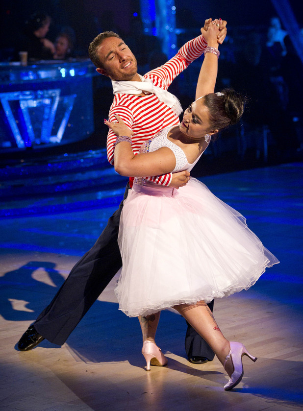 Strictly Week 9: Dani and Vincent.