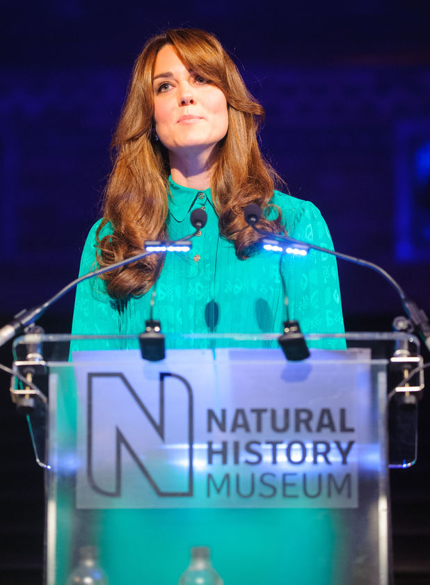 Duchess of Cambridge, Kate Middleton, Natural History Museum