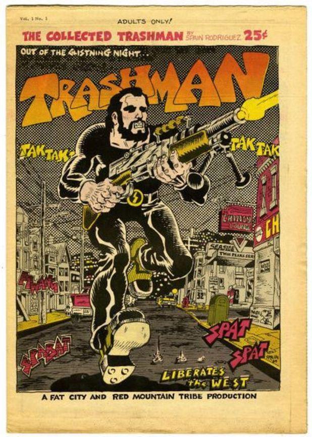 Trashman comic