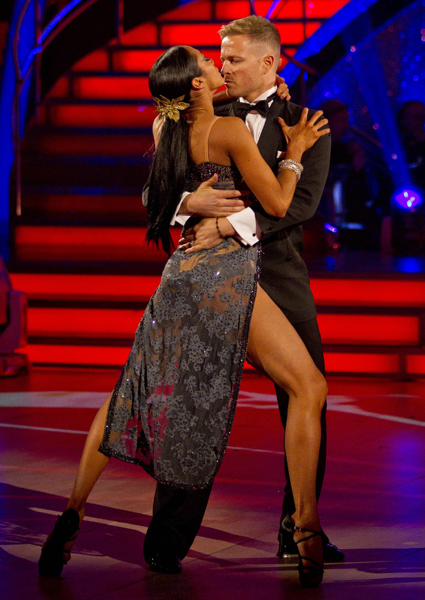 Strictly Week 9: Nicky and Karen.