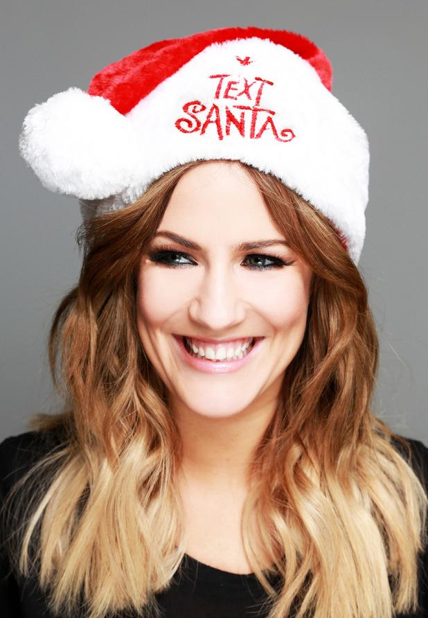 Caroline Flack - Text Santa