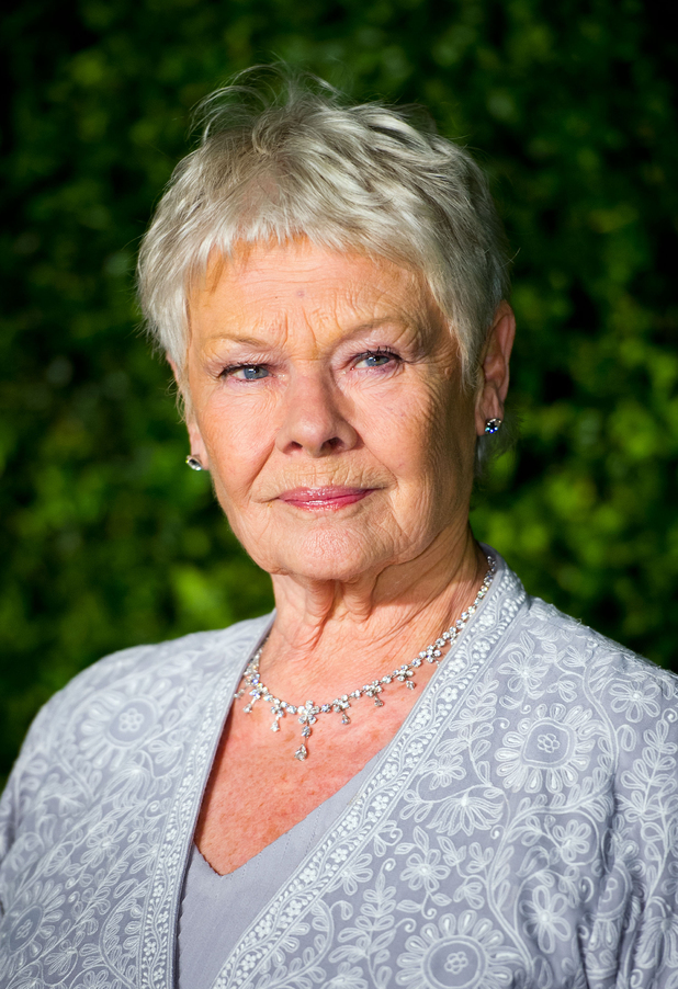 Dame Judi Dench, attends the 58th London Evening Standard Theatre Awards at the Savoy Hotel, London.