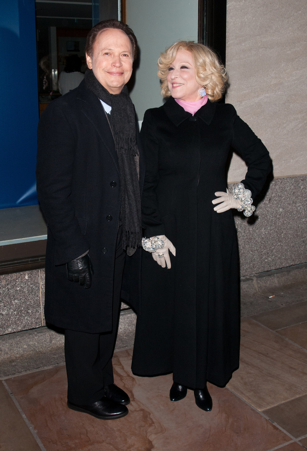The 80th Annual Rockefeller Center Christmas Tree Lighting Ceremony at Rockefeller Center - Arrivals Featuring: Billy Crystal, Bette Midler Where: New York City, United States