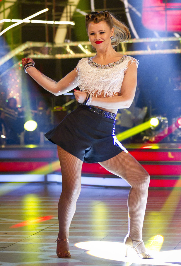 Strictly Week 9: Kimberley.