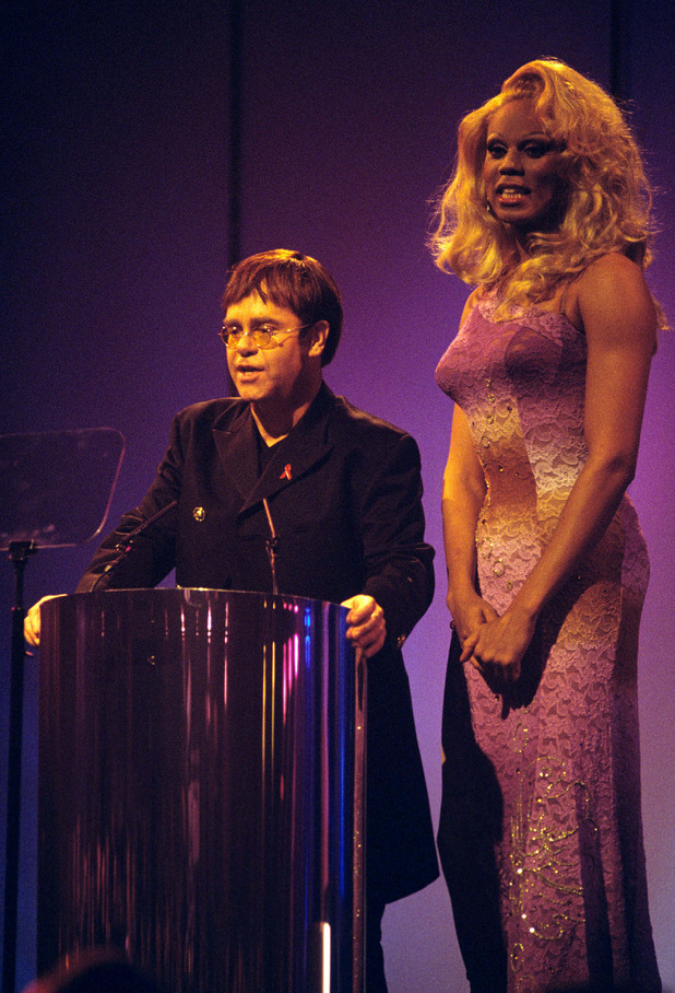 Elton John and RuPaul